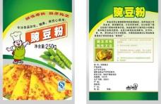 豌豆粉塑料袋包装图片