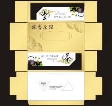 飘香茶馆抽纸盒图片