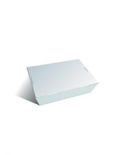 白色打包盒图片