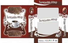 咖啡包装盒图片