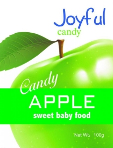 苹果糖图片