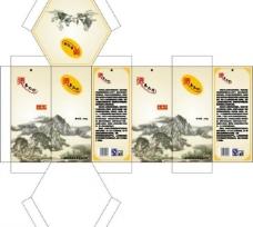 土特产包装盒图片