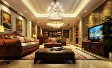 客厅效果图图片