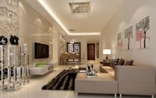 室内客厅表现设计图片