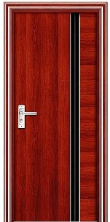 欧式红色木门装修效果图