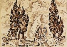 神话油画图片