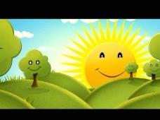 卡通动画背景视频素材
