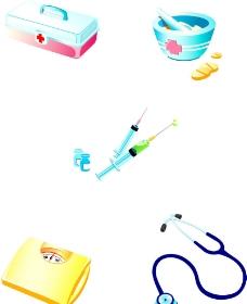 医疗设备矢量图图片