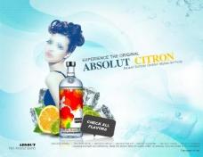 酒品杂志广告图片
