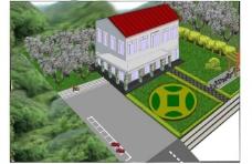 绿化效果图图片