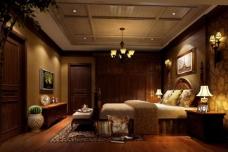 别墅卧室图片