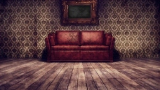 室内沙发背景图片