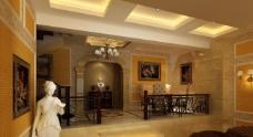 饭厅效果图图片