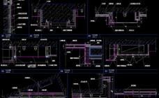 大型自助式ktv 三层走道节点详图图片