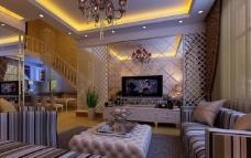客厅装饰效果图图片