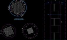 大型自助式ktv 大堂 圆柱详图图片