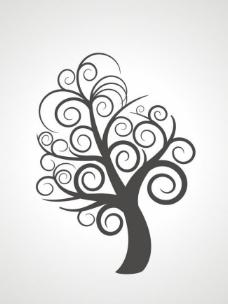 矢量树图片
