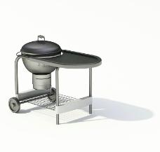 室外模型 烧烤模型图片