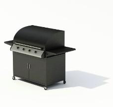 室外烧烤器械模型图片