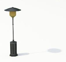 室外模型 路灯模型图片