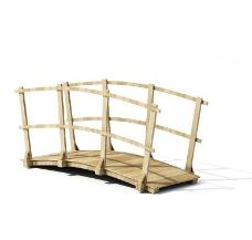木桥 木桥模型图片