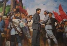 红军会师图片