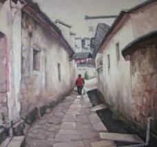 古镇之暮图片