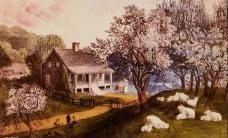 西方经典风景油画图片