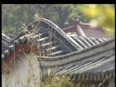 古建筑屋顶视频素材