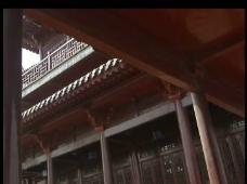 屋檐背景视频素材