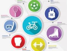 体育运动标签图片