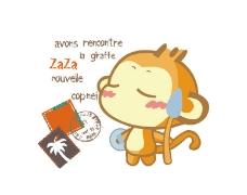 小猴子图片