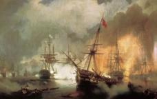 纳瓦里诺海战图片