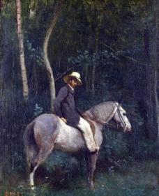 油画人物图片