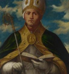 人物油画 圣教士 传教士图片