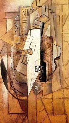 抽象油画作品图片