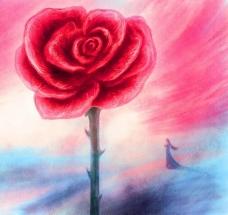 油画 玫瑰梦图片