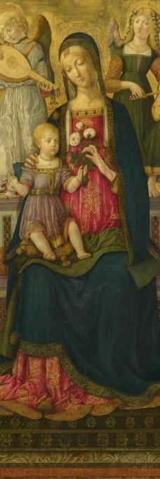 迪吉奥瓦尼 圣母 圣婴图片