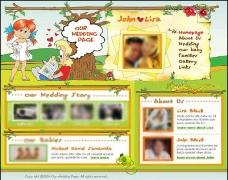 婚姻网站模板图片