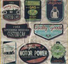 汽车服务标签图片