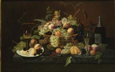 闈欑墿鏋滆敩901 (76)水果疏菜静物油画超写实主义油画静物