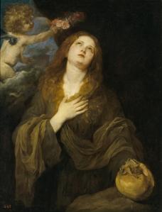 Dyck, Anton van - Santa Rosalia, 1622-27英国画家安东尼凡戴克Anthony van dyck人物油画装饰画