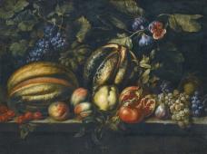 闈欑墿鏋滆敩901 (78)水果疏菜静物油画超写实主义油画静物