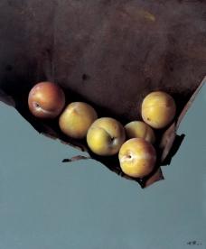 鍐峰啗 (1)水果疏菜静物油画超写实主义油画静物