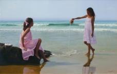 Western-235高清西方现代人物油画国外油画大师人物油画作品