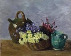 闈欑墿鍣ㄧ墿901 (39)实物杯子罐子器皿静物印象画派写实主义油画装饰画
