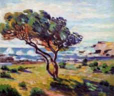 Arman Giyomen 0010法国画家Arman Giyomen印象派风景油画装饰画人物油画装饰画