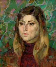 Western-236高清西方现代人物油画国外油画大师人物油画作品