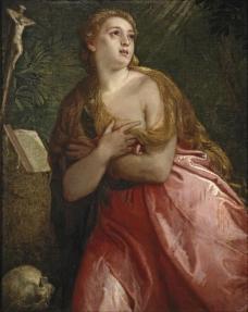 Veronese, Paolo - Penitent Mary Magdalene, 1583大师画家人体艺术油画肖像油画宫廷人物油画装饰画