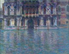 The Palazzo Contarini, 1908法国画家克劳德.莫奈oscar claude Monet风景油画装饰画